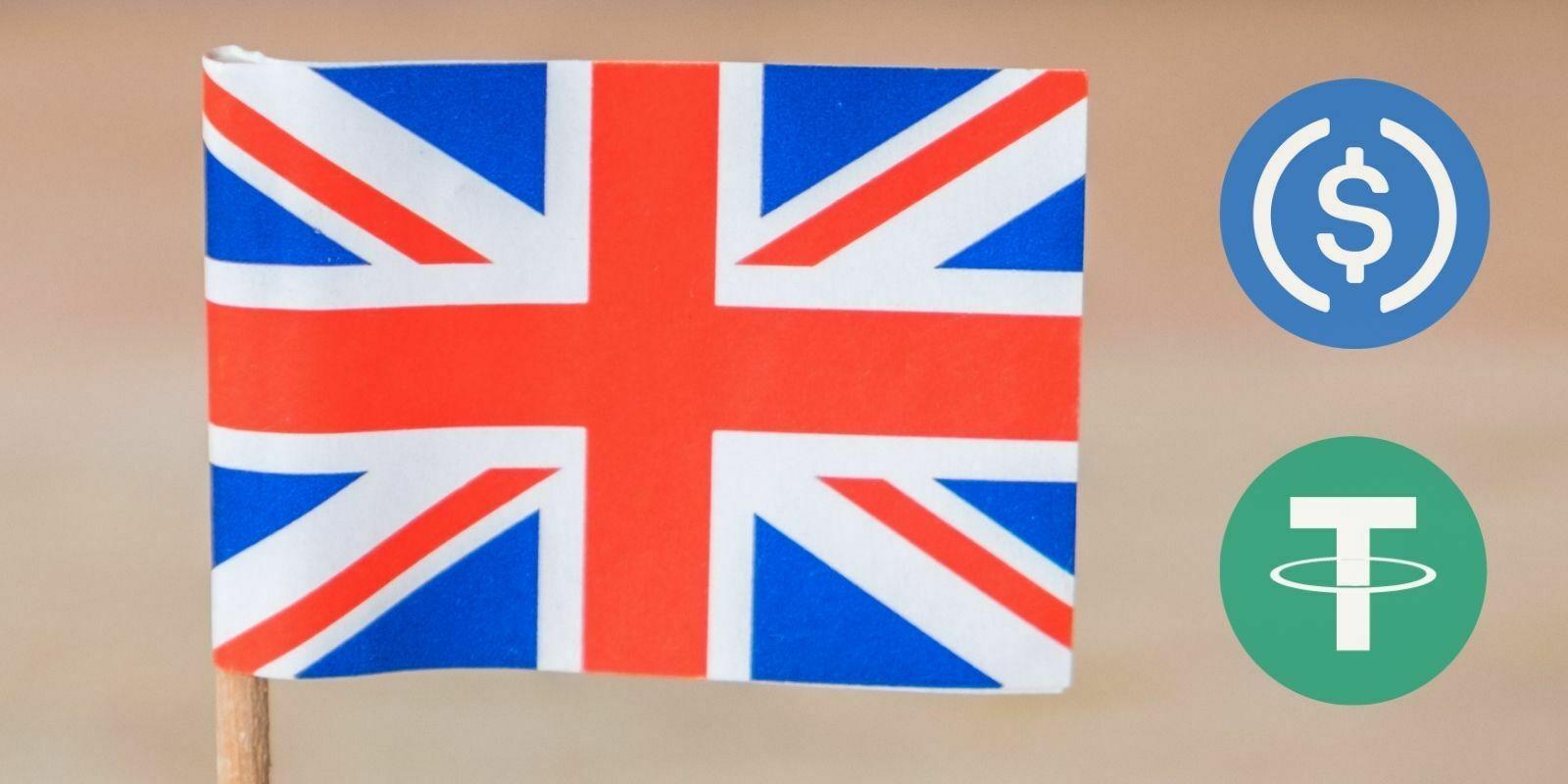 Le gouvernement britannique reconnait le potentiel des stablecoins pour l'économie