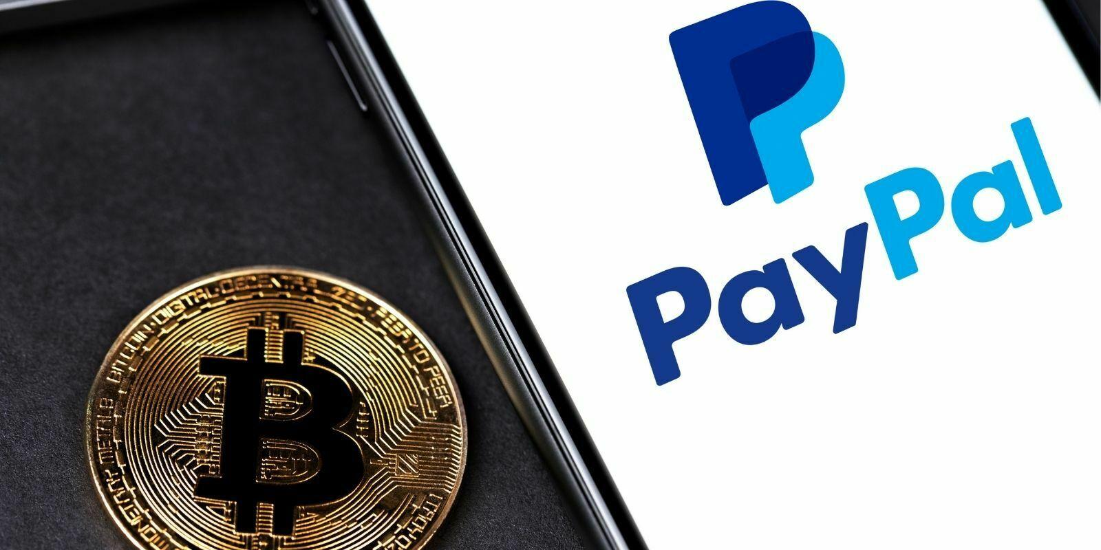 PayPal enregistre un volume d'échange de cryptomonnaies de 242M$ en 24 heures