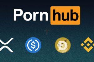 Pornhub accepte maintenant le XRP, le BNB, l'USDC et le DOGE