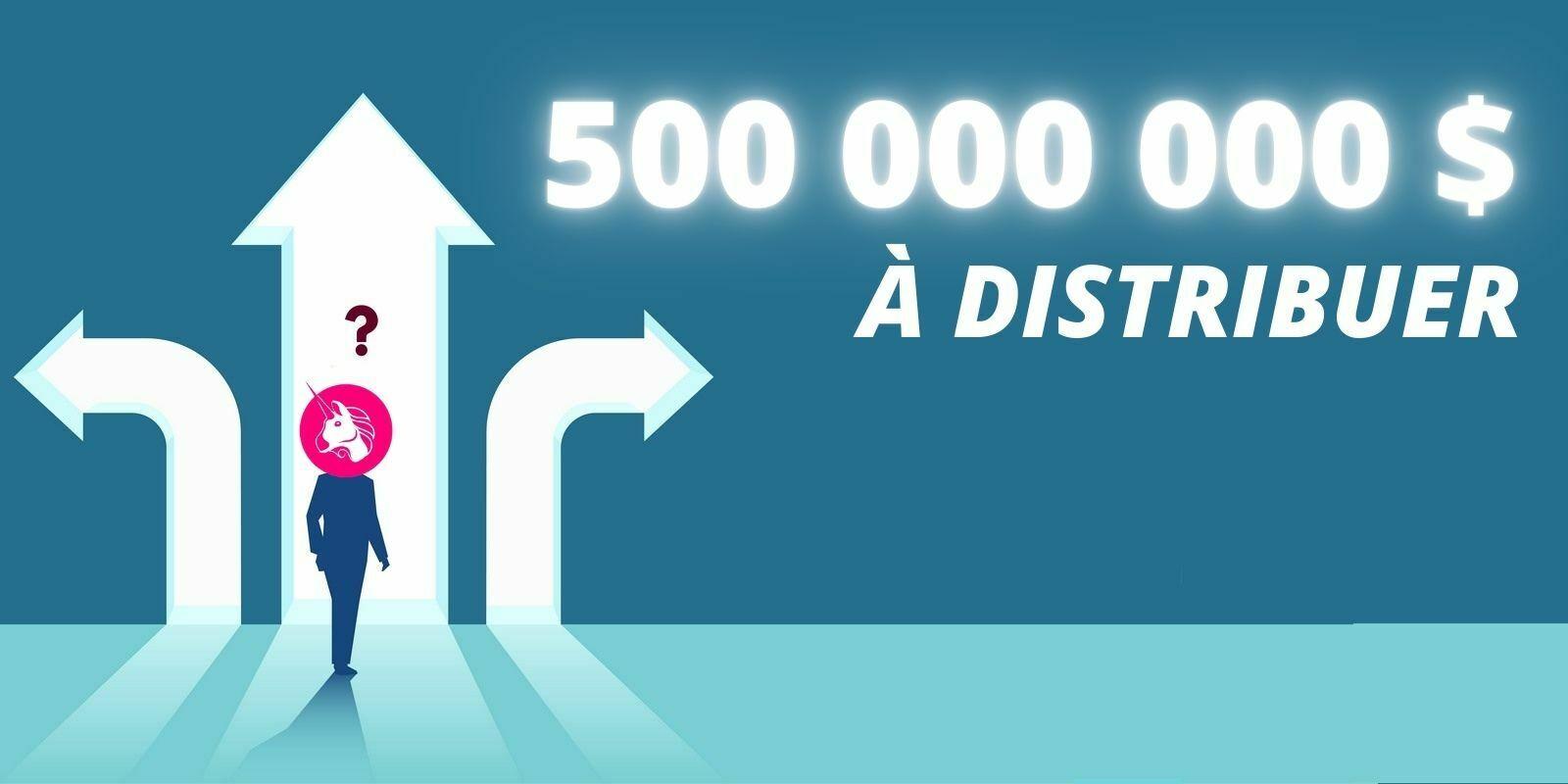 Aidez Uniswap à décider comment utiliser 500 millions de dollars