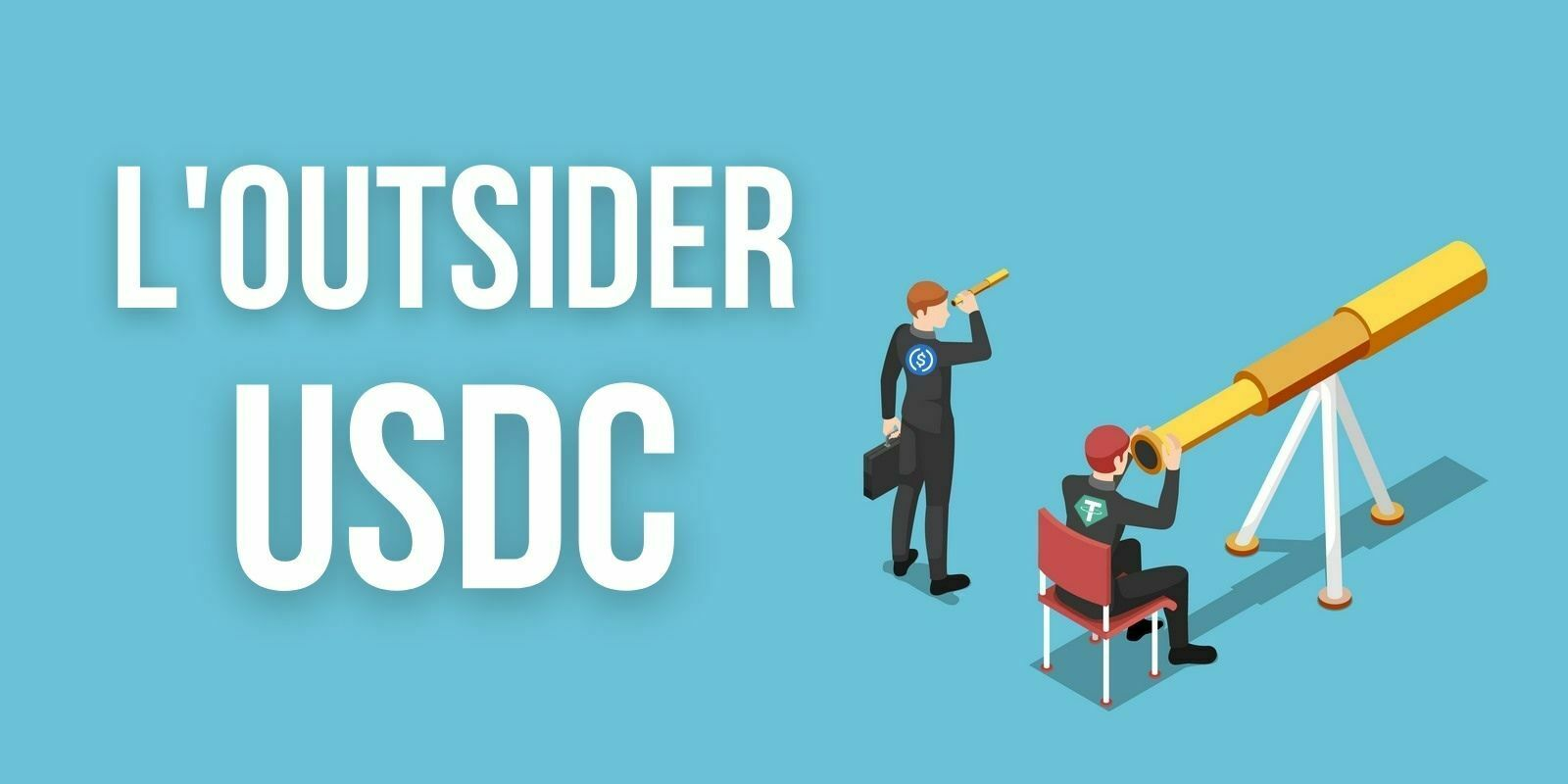 Un rival pour Tether - Le nombre d'USDC sur les exchanges a augmenté de +112% en janvier