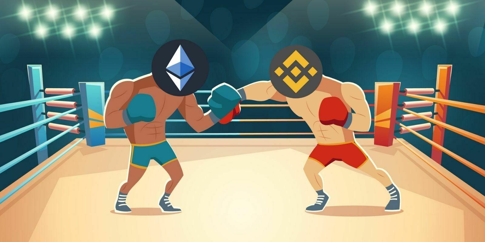 Binance Smart Chain dépasse Ethereum en termes de transactions journalières