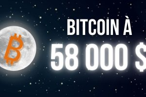 Bitcoin (BTC) a dépassé les 58 000 dollars – La chute à venir?