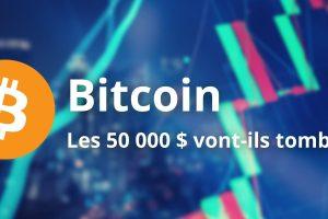 Le Bitcoin (BTC) bloque à l'approche des 50 000 $