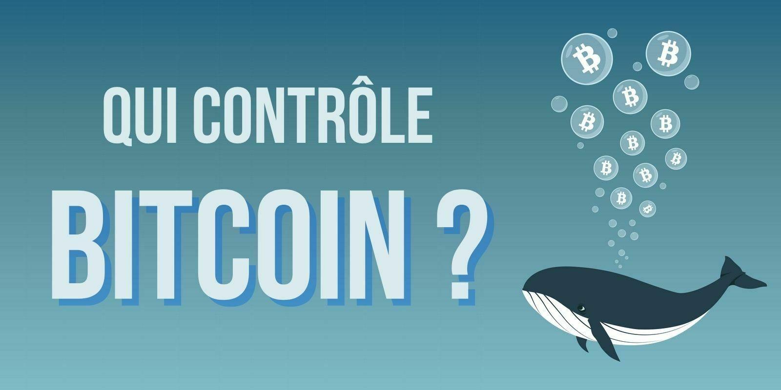 Non, le Bitcoin (BTC) n'est pas aussi concentré qu'on ne le pense