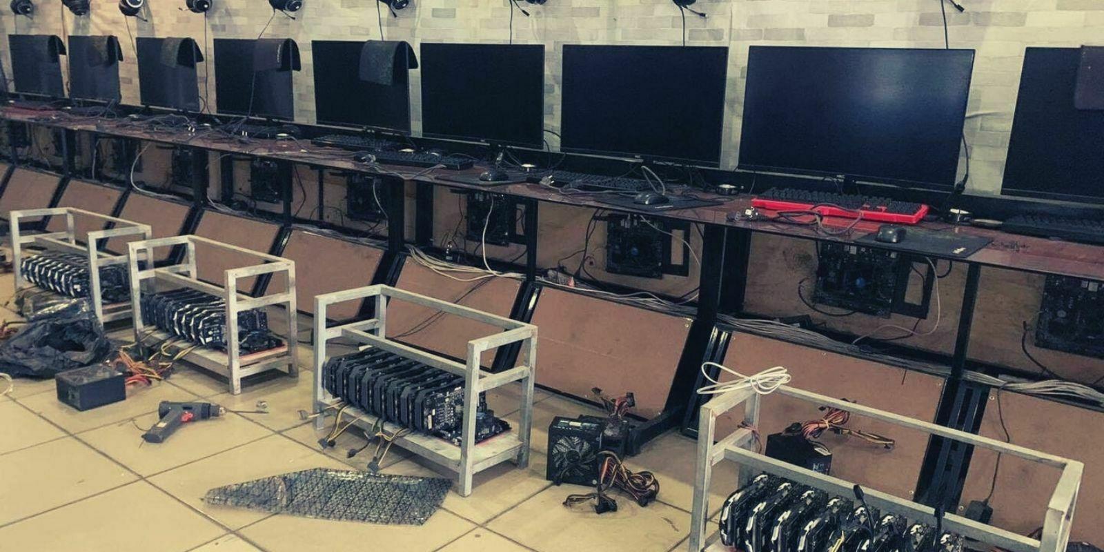 Faute d'activité, un cybercafé se transforme en ferme à ethers (ETH)