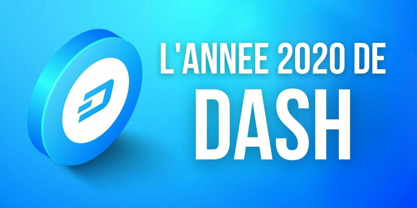 Le volume d'échange de Dash a progressé de +282% en 2020
