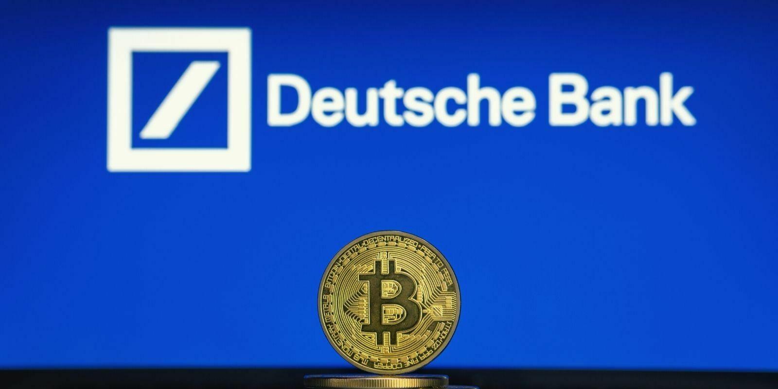 La Deutsche Bank prépare un service de garde pour cryptomonnaies