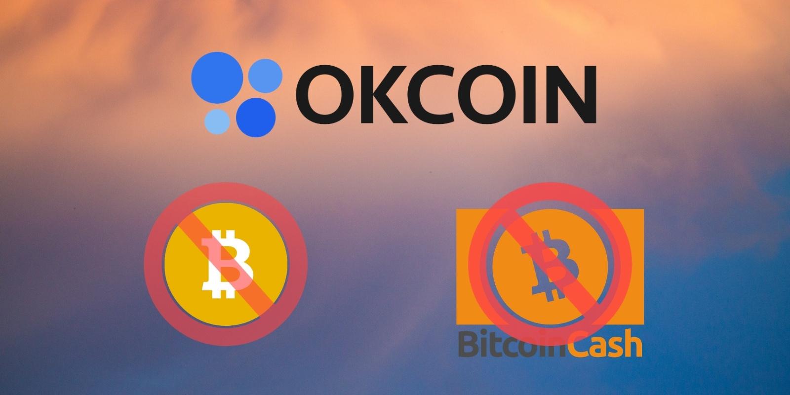 Pour « protéger le Bitcoin », OKCoin retire le Bitcoin Cash et le Bitcoin SV de sa plateforme