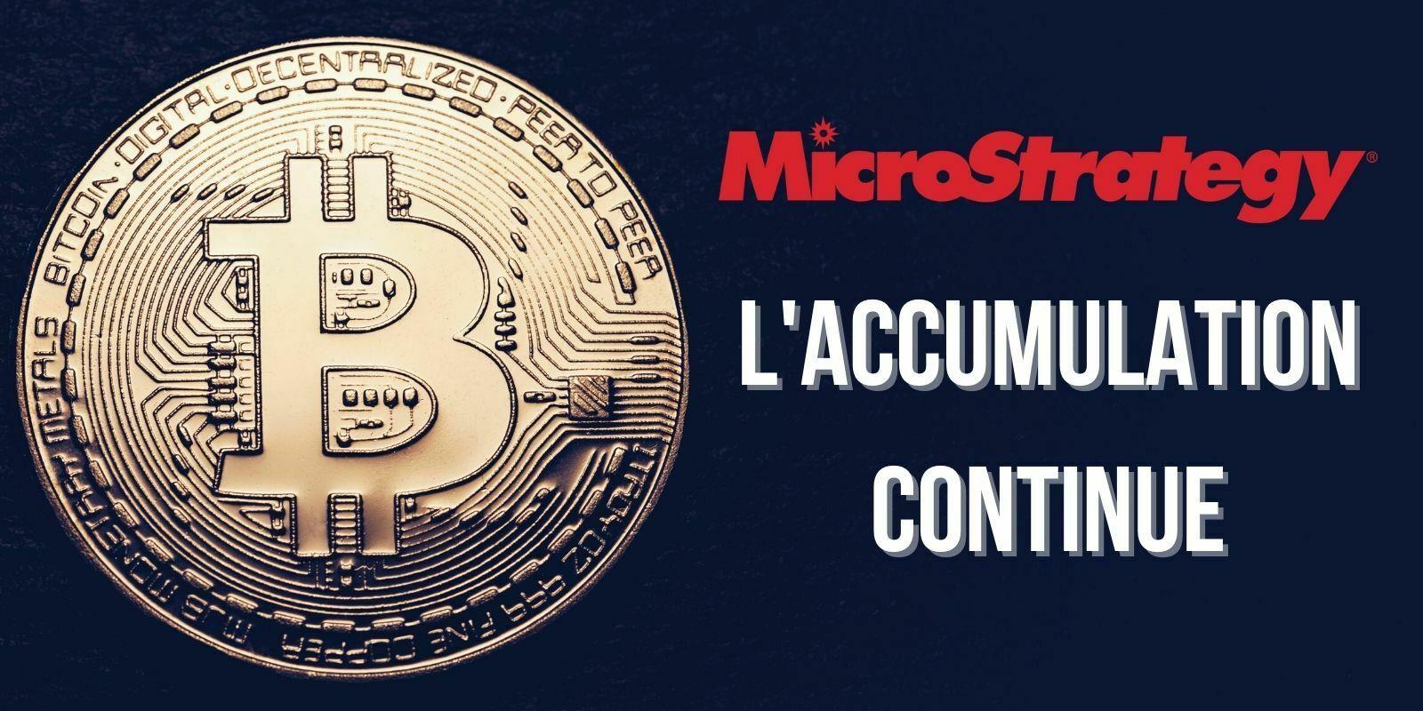 MicroStrategy va lever 690M$ supplémentaires pour acheter du Bitcoin (BTC)