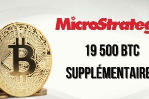MicroStrategy achète pour 1 milliard de dollars de bitcoins (BTC) supplémentaires