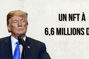 Un NFT représentant Donald Trump se revend 6,6 millions de dollars - Un montant record