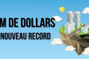 Nouveau record de NFT : des terrains virtuels à 1.5 million de dollars