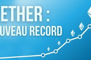 Ethereum: record absolu pour le cours de l'ETH, les revenus des mineurs explosent