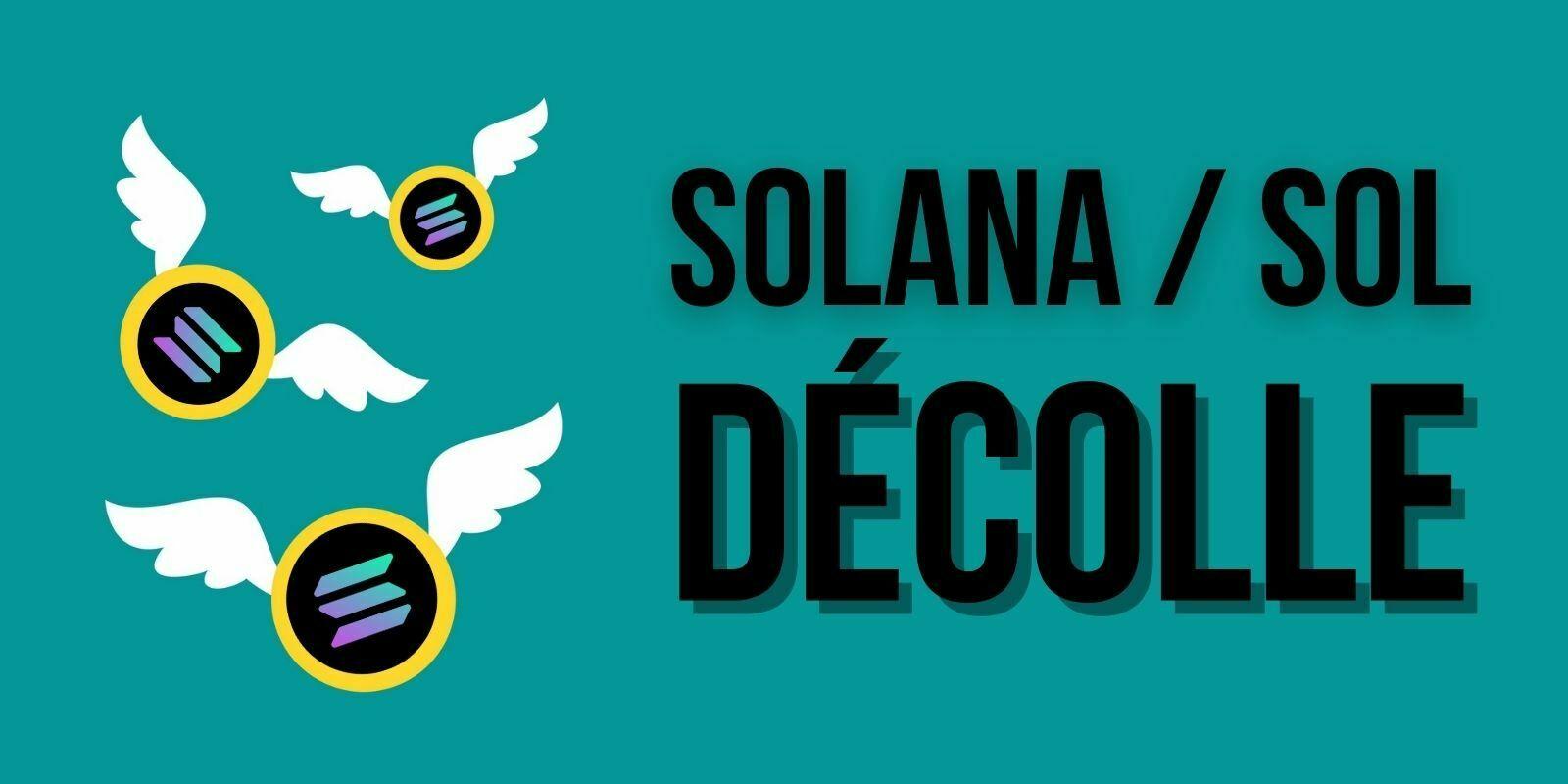 Solana (SOL) prend +76% et atteint un record face à des altcoins moroses
