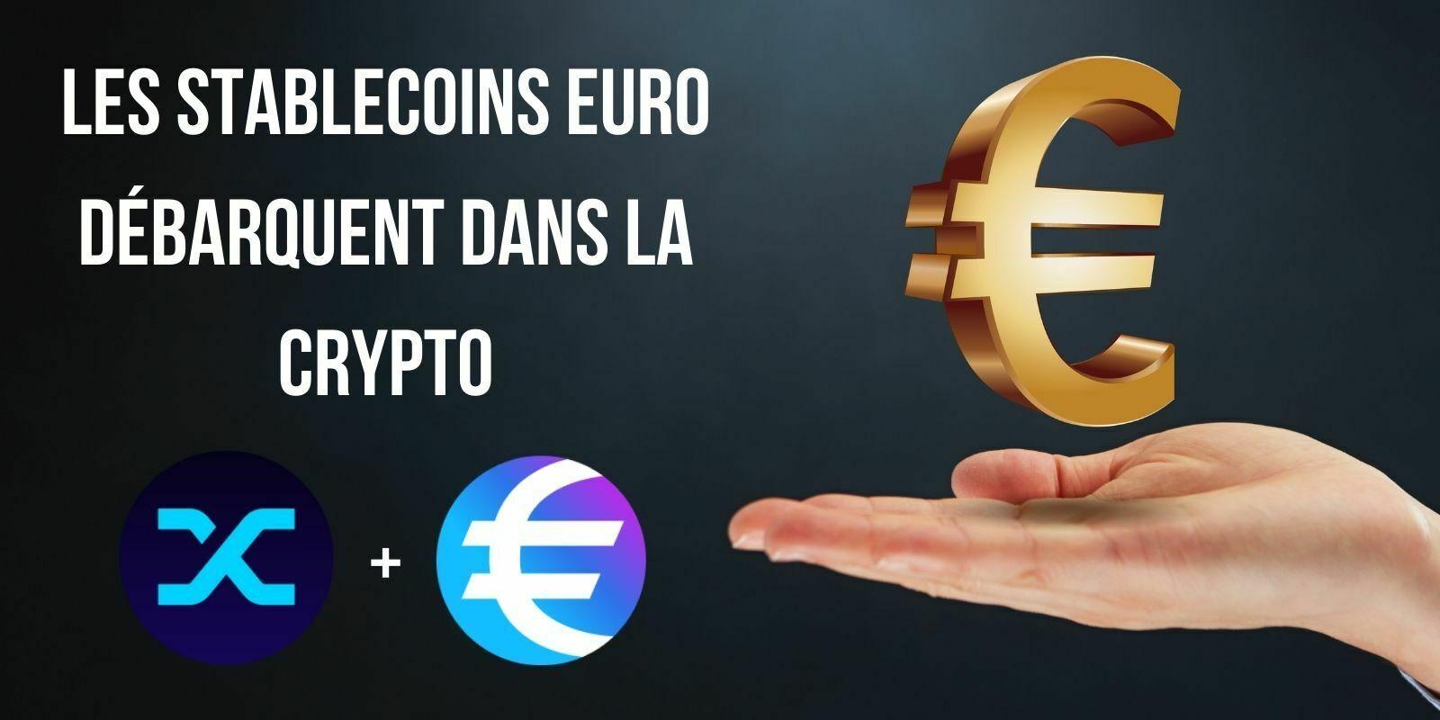 Les stablecoins euros se font une place dans l'écosystème DeFi