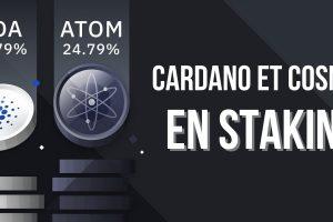 Le staking d'ADA (Cardano) et ATOM (Cosmos) débarque sur Binance