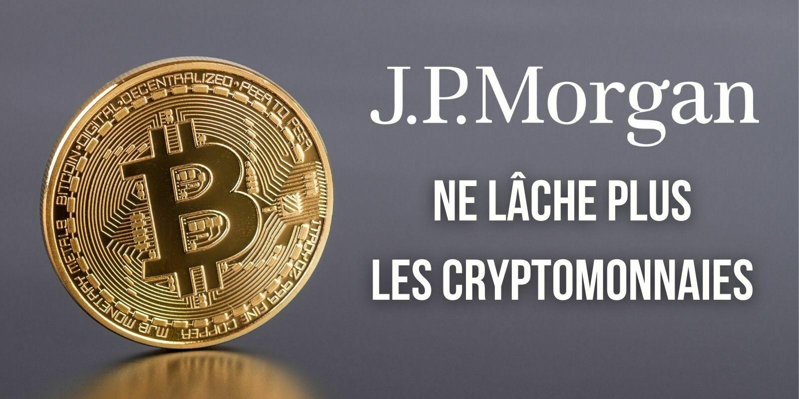 La banque JPMorgan prépare un produit pour s'exposer aux entreprises impliquées dans le Bitcoin (BTC)