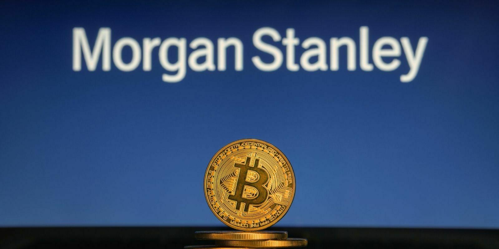 La banque Morgan Stanley offre une exposition au Bitcoin (BTC) à ses clients les plus fortunés