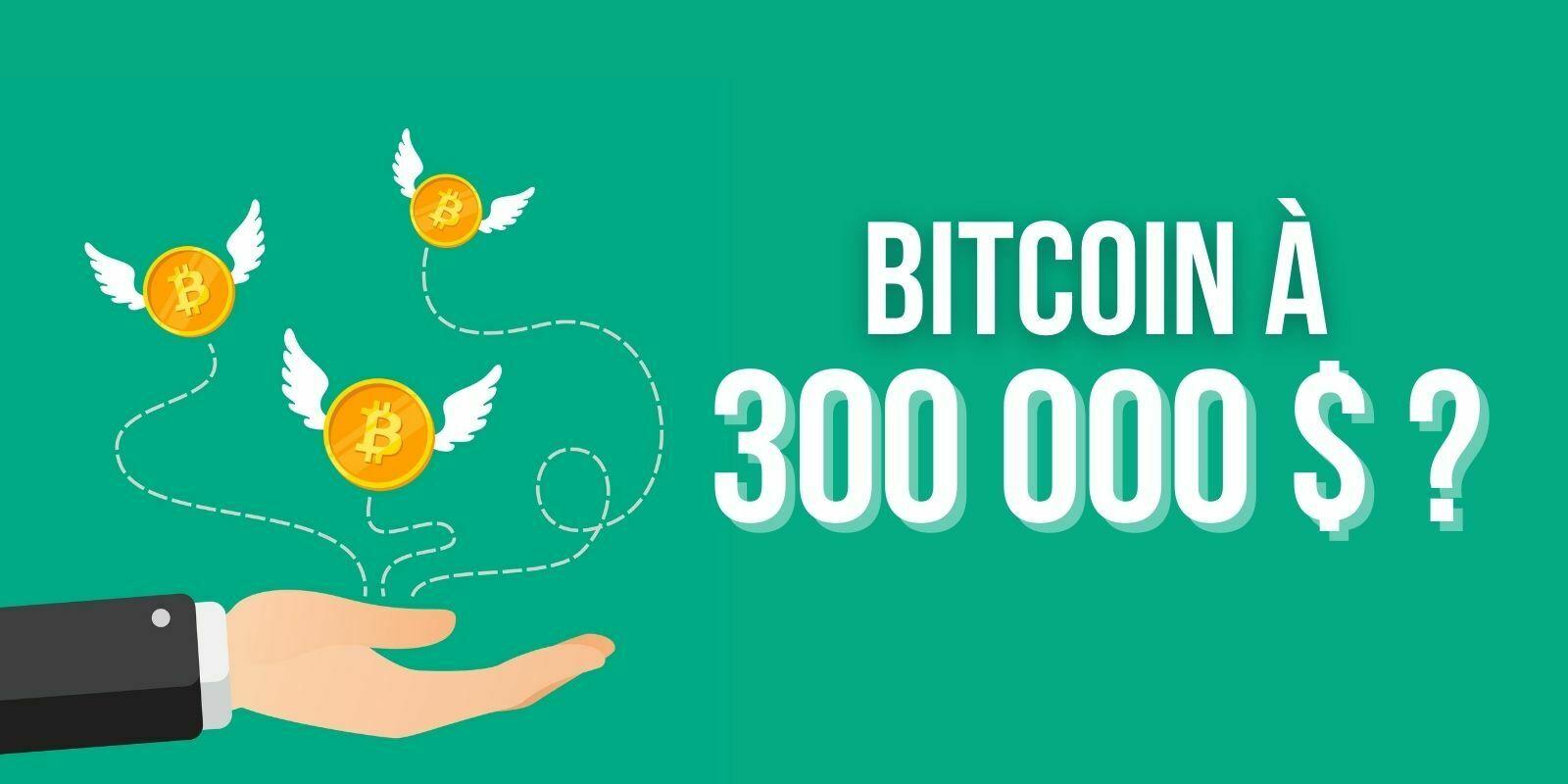 Le Bitcoin (BTC) pourrait atteindre 300 000 $ en septembre prochain, selon le PDG de BTC.Top