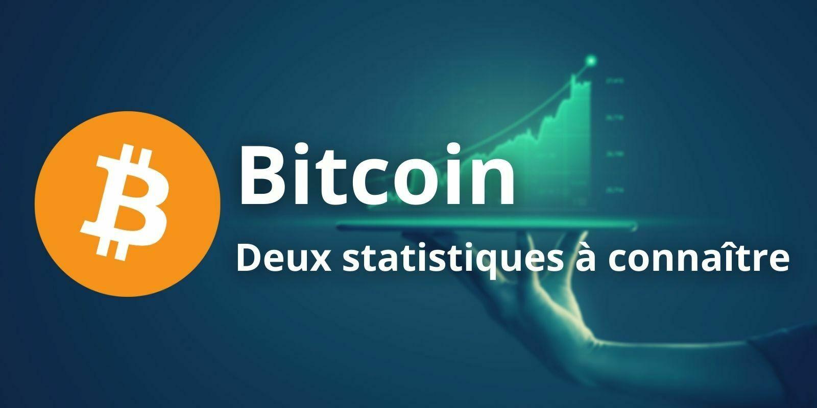 Bitcoin (BTC) - Deux statistiques à impérativement comprendre