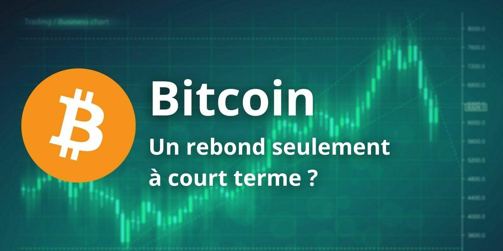Le Bitcoin (BTC) rebondit après une semaine de correction