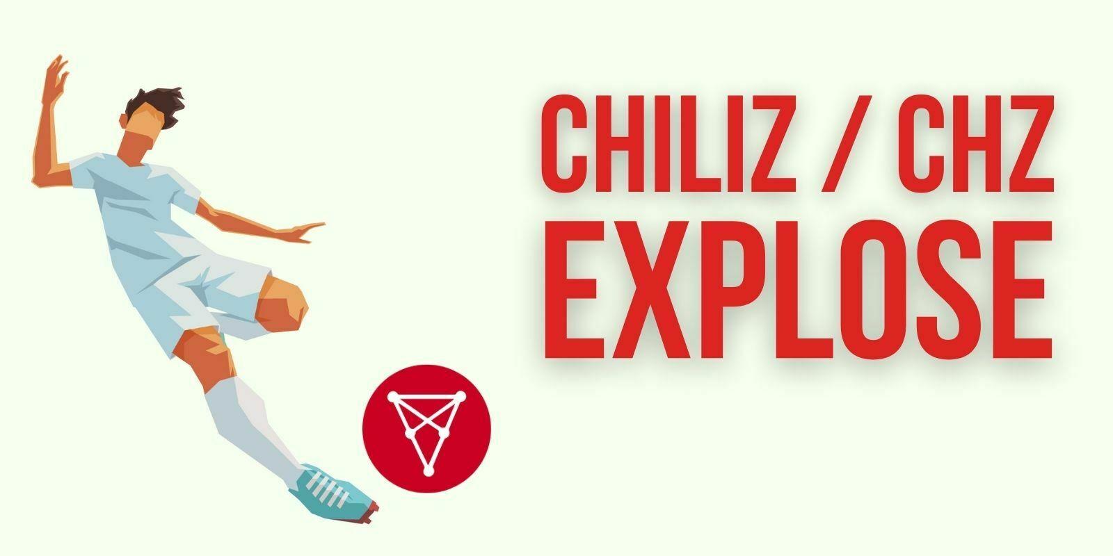 Pourquoi le CHZ de Chiliz vient-il de prendre +127%?