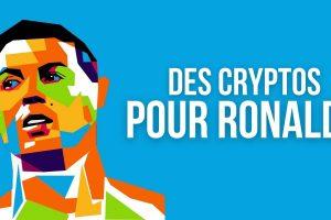 Cristiano Ronaldo reçoit de la cryptomonnaie en échange de ses buts