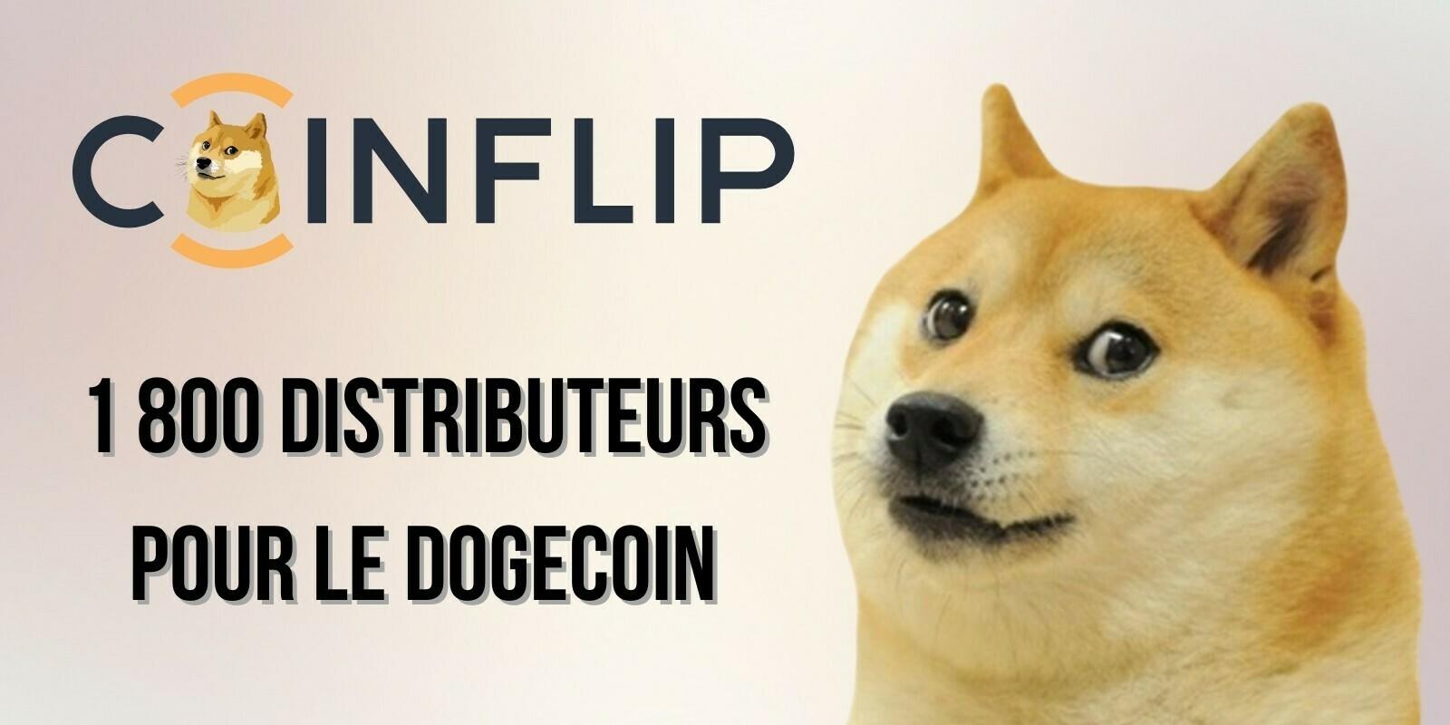 États-Unis : 1 800 distributeurs automatiques intègrent le Dogecoin (DOGE)
