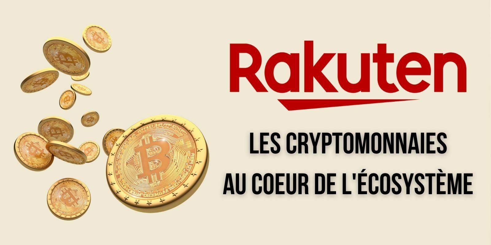 Le géant du e-commerce Rakuten intègre les cryptomonnaies à son application de paiement