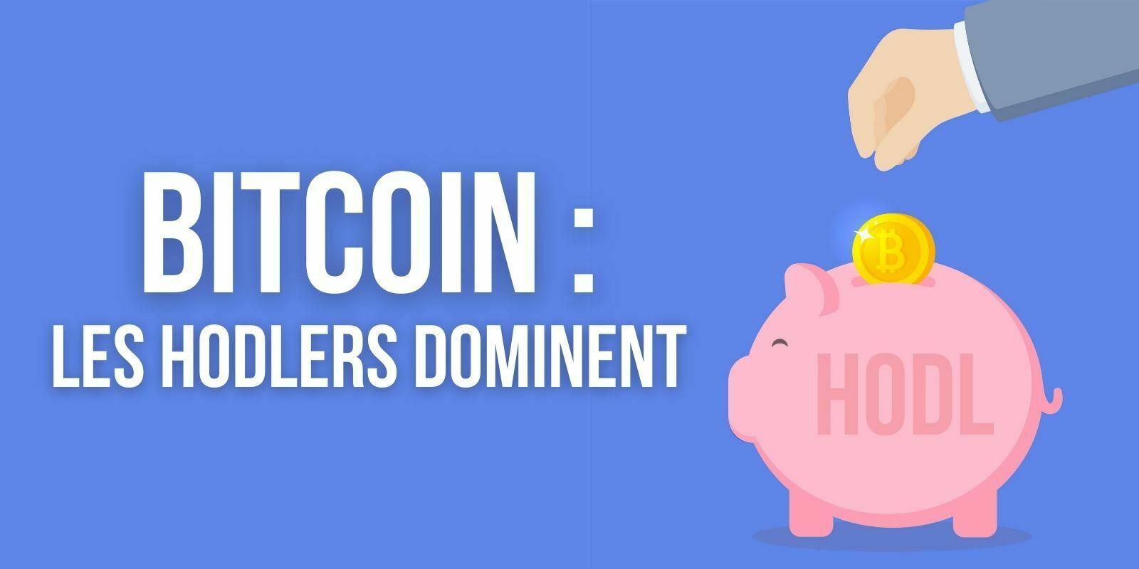 Les hodlers tiennent bon: 95% des bitcoins (BTC) échangés ont moins de trois mois