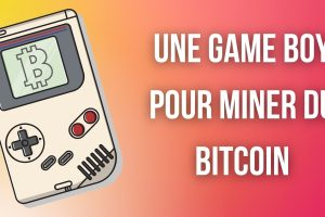 Miner du bitcoin (BTC) avec une Game Boy de Nintendo, c'est possible