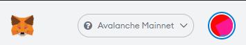 MetaMask Choix Réseau Avalanche