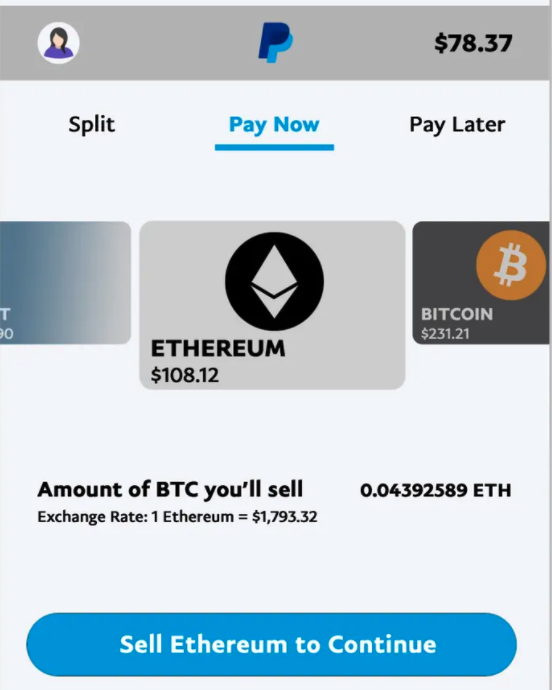 Checkout with Crypto