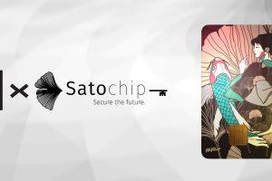 Satochip et le crypto-artiste Arke collaborent pour offrir un nouveau cas d'utilisation aux NFTs