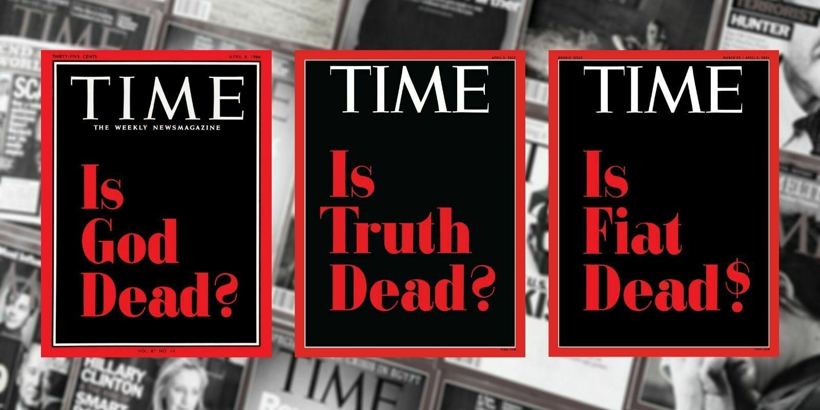 Le Time Magazine vend des NFTs de ses couvertures pour 440 000 dollars