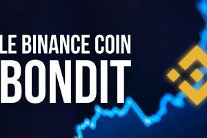 Le cours du Binance Coin (BNB) bondit et atteint un nouveau record absolu