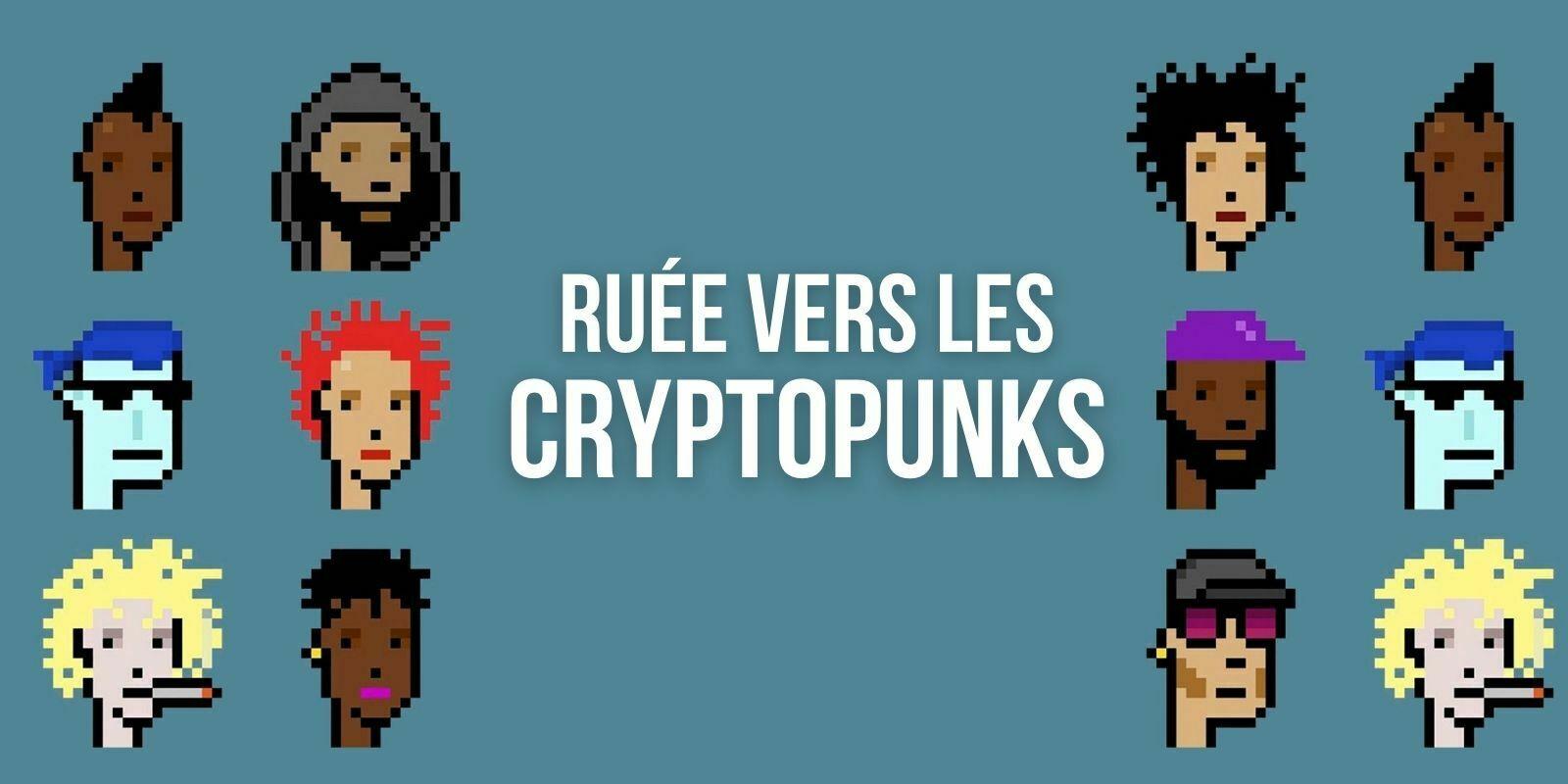 La société de vente aux enchères Christie's proposera 9 NFT de CryptoPunks
