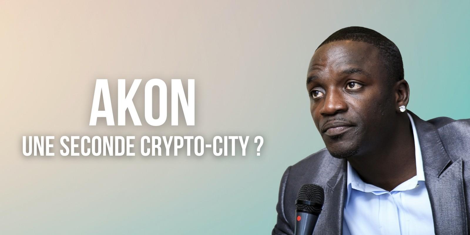 Le chanteur Akon prévoit la construction d'une seconde crypto-city en Ouganda