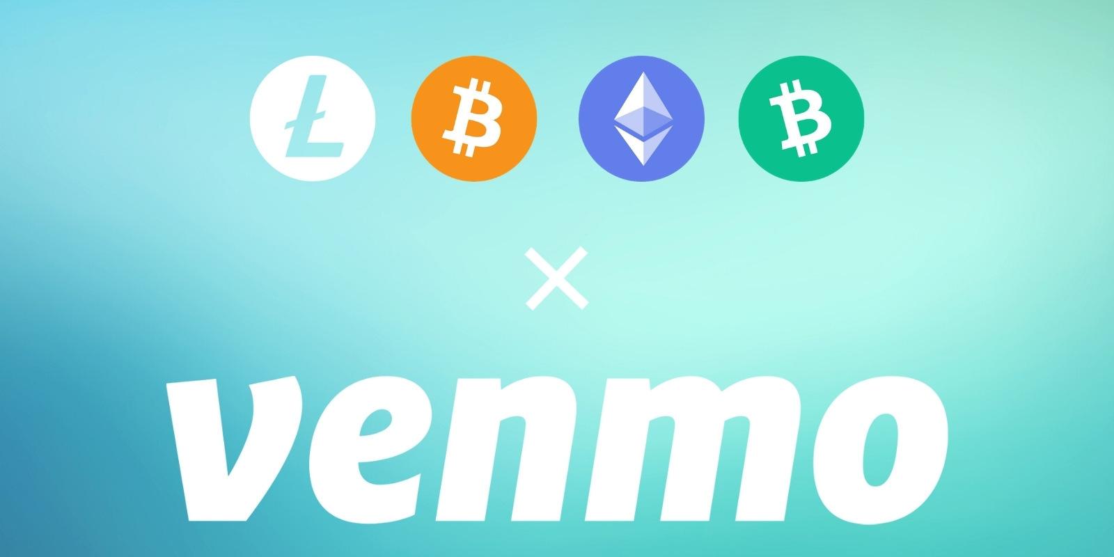 L'application de paiement P2P Venmo introduit les cryptomonnaies