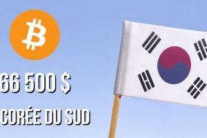 Le Bitcoin (BTC) atteint les 66 500 dollars en Corée du Sud - Le « Kimchi Premium » est de retour
