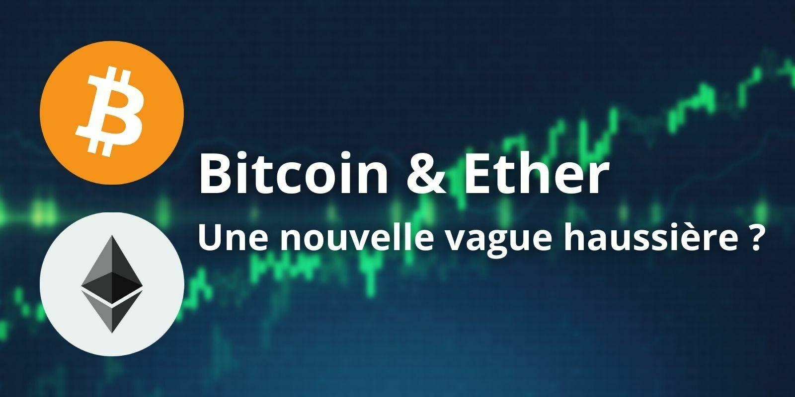 En range, le Bitcoin (BTC) donne l'occasion à l'Ether (ETH) de s'envoler