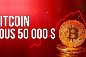 Bitcoin (BTC) chute sous les 50 000 dollars – Que s'est-il passé?