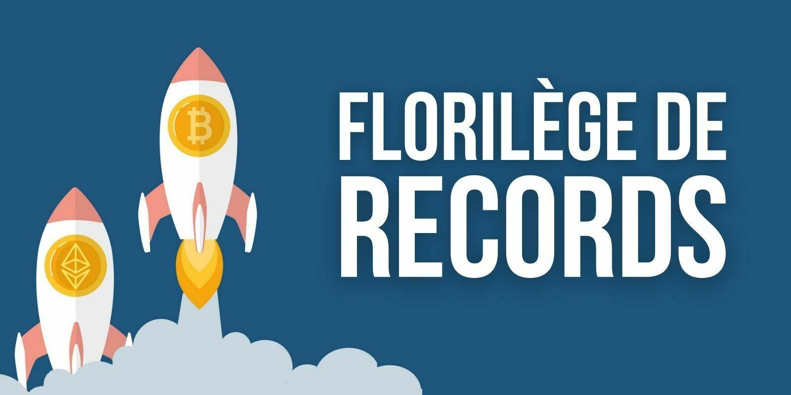 Le Bitcoin (BTC), l'Ether (ETH) et d'autres altcoins atteignent des records absolus