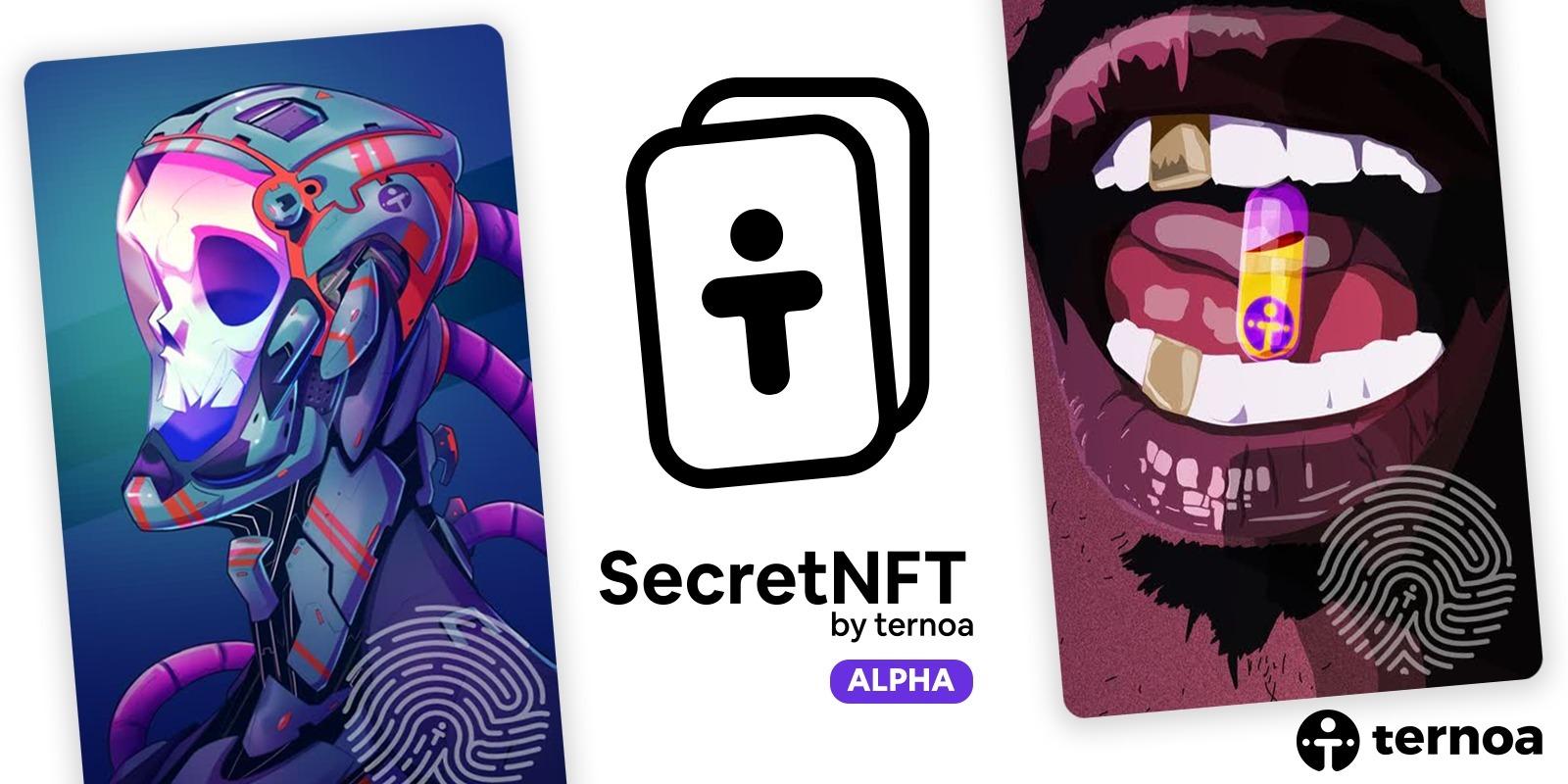 La blockchain Ternoa (CAPS) dévoile SecretNFT, sa plateforme de NFTs