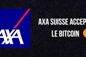La branche suisse de l'assureur AXA accepte maintenant le Bitcoin (BTC)