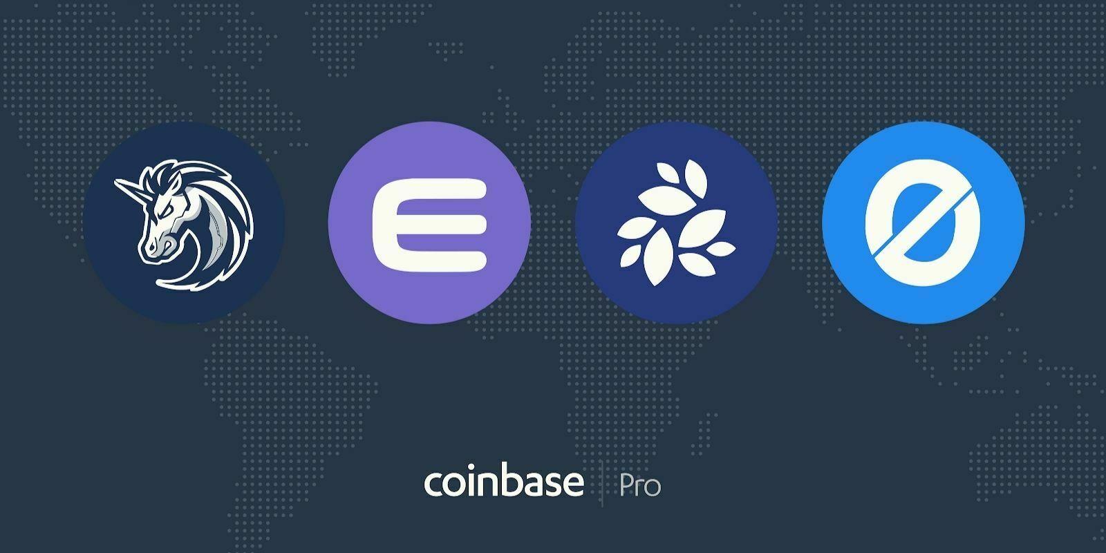 Coinbase Pro ajoute les tokens de 1inch, Enjin (ENJ), NKN et Origin (OGN)