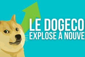 Le Dogecoin (DOGE) atteint un nouveau record absolu et devient la 8e cryptomonnaie la plus capitalisée
