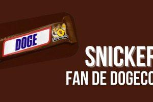 La marque Snickers clame son amour pour le Dogecoin (DOGE)