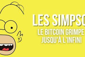 Un épisode des Simpson montre le bitcoin (BTC) grimpant jusqu'à l'infini